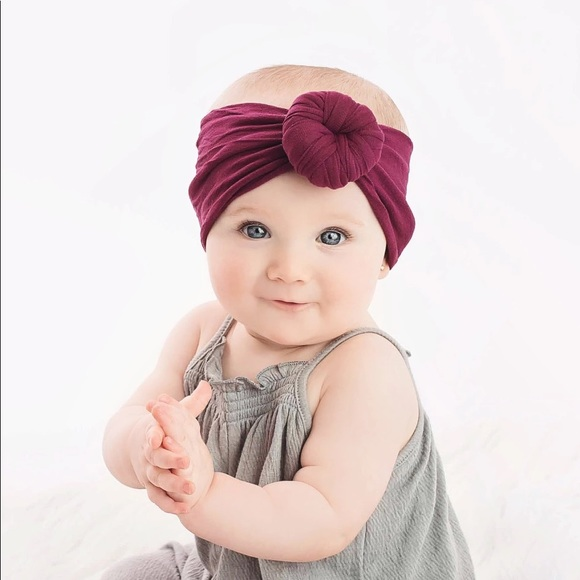 Other - Black Turban Baby Headband